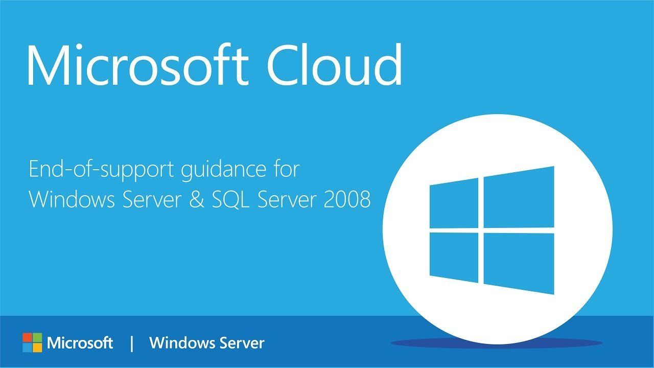 Microsoft support for Windows Server 2008 ending soon, what's your path forward?